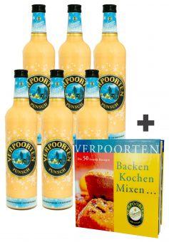 6 x Eierpunsch 0,75 L Flasche VERPOORTEN Punsch 11 %vol